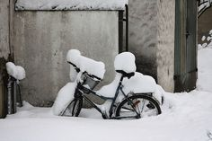 Winter in Oslo Oslo, Norway, Bike, Spaces, Explore, Adventure, Winter, Bicycle Kick, Bicycle