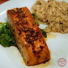 Quick and Easy Broiled Salmon with Honey and Soy | comfortable food