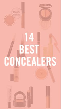 The endless varieties of every form of makeup can get a little overwhelming, so we're here to help you out with the 14 best concealers on the shelves.