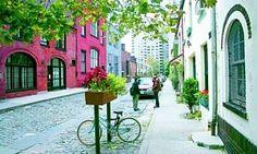 NYU Campus: A Parisian Streetscape in Greenwich Village