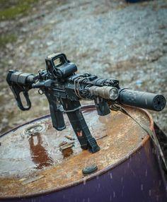 Military Weapons, Weapons Guns, Guns And Ammo, Armas Airsoft, Ar15 Pistol, Tactical Gear, Tactical Survival, Shooting Guns, Custom Guns