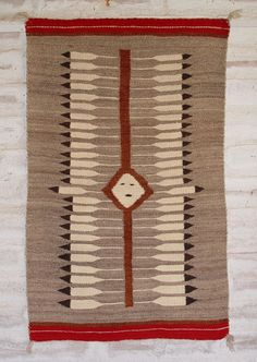 Great Star Pictorial Weaving : c 1920′s : 25.5″ x 40″
