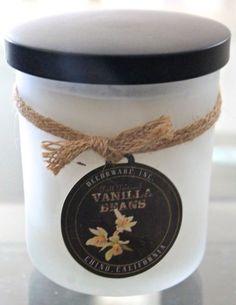 DW Home Vanilla Bean Fall Festival Candle New Decorware 2 Wick Glass Ball Soywax | eBay
