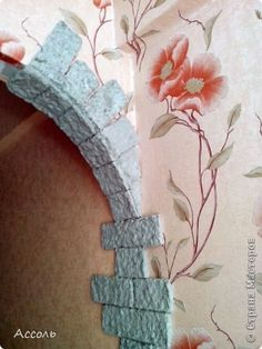 Интерьер Мастер-класс Папье-маше Арка а-ля старый замок своими руками Бумага фото 6