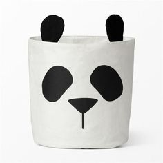 Baby Care Panda Nappy Bag Mom Bebe Room Decoration Canvas Toy Storage Barrel Stuff Maternity Bags for Stroller Mummy Diaper Bag