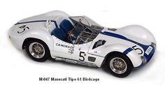 """Maserati Tipo 61 - """"The Birdcage"""" by CMC Classic Model Cars"""