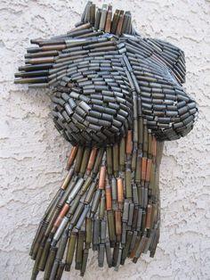 (24) Metal Wall art sculpture abstract torso by Holly by onlyart76, 619.00 | Art | Pinterest