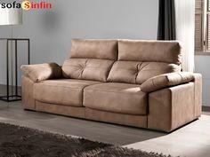 Sofá moderno de 3 y 2 plazas modelo Vitara fabricado por Acomodel en Sofassinfin.es