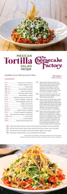 Learn how to make our Mexican Tortilla Salad at home. Click through to get the scoop!