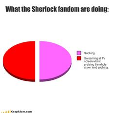 What the Sherlock fandom are doing