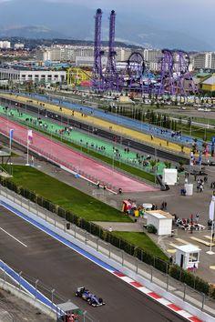 Sochi Autodrome atmosphere. Felipe Nasr (BRA) Sauber F1 Team.