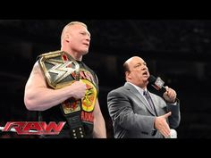 Video: Watch Paul Heyman Hint at Brock Lesnar 'Unifying the WWE, UFC Title' This Summer