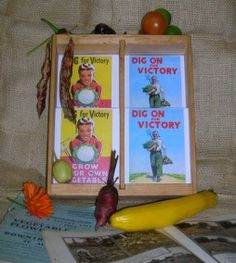"""Vegetable Seed Selection """"Dig For Victory"""" Gift Box by Thomas Etty. A gift box featuring seeds for six great traditional varieties of vegetable from heritage seed specialist Thomas Etty. Vegetable Selection (Smiling Girl) includes: James' Scarlet Carrot; Fill-basket Brussels Sprout; Wheeler's Imperial Cabbage; Musselburgh Leek; Ailsa Craig Onion; Scarlet Emperor Runner Bean (6 packets)"""