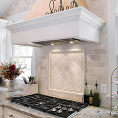 Tumbled Travertine Subway Tile Backsplas Design, Pictures, Remodel, Decor and Ideas - page 2