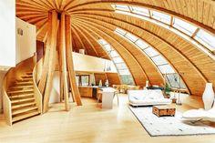 Domespace Felaketlere dayançklç prefabrik ekolojik ev dînerek optimum gÅneü çüçßçnç alçyor (6)