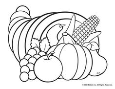 free printable coloring pages for thanksgiving - Printable Thanksgiving Coloring Pag