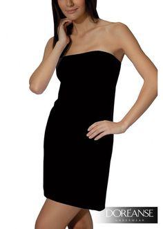 DA11133 - #Bandeau-Unterkleid in leichter A-Linie für eine tolle Silhouette #Underdress #Slipdress #Fullslip