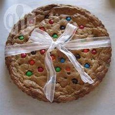 Cookie de chocolate gigante @ allrecipes.com.br