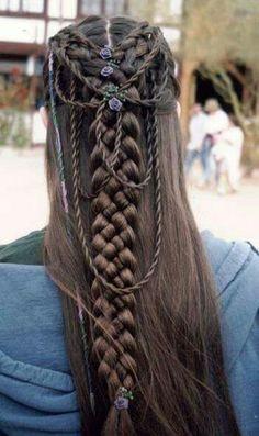 Medieval hair styles