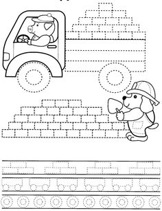Fine motor printables  -Repinned by Totetude.com