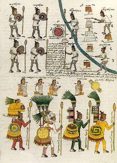 Codex Mendoza (1542) | The Public Domain Review