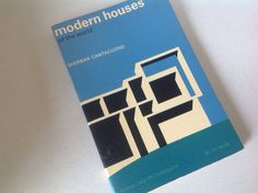 Retro 60s book modern houses Dotmond vista picture back PICTORAL  of architecture by Hannahandhersisters on Etsy