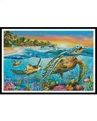 Underwater Turtles