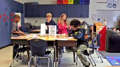 At Albemarle County Public Schools, flexible classrooms empower student choice, increase student engagement, and improve student participation. Albemarle Cou...