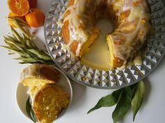 Bolo de tangerina. Receita em: www.pimentadoce.net