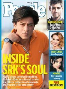 SRK - People magazine cover July 2012