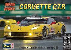 Revell-Monogram Corvette C7.R -- Plastic Model Car Kit -- 1/25 Scale -- #854304
