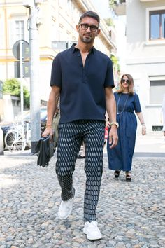 Simone Marchetti at Best Mens Fashion, Look Fashion, Fashion Outfits, Fashion Hair, Men Street, Street Wear, Stylish Men, Men Casual, Smart Casual