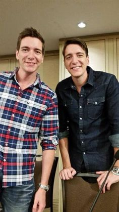 Ollie and James Phelps                                                       …