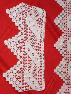 Discover thousands of images about Edible Lace Geometric Decorative Cake Strip Wedding Cakes Cupcakes Quick Crochet, Filet Crochet, Crochet Dollies, Crochet Lace, Crochet Borders, Crochet Patterns, Edible Lace, Corner To Corner Crochet, Jacob's Ladder