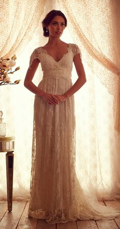 Rochii de mireasa care te lasa fara cuvinte – ANNA CAMPBELL Gossamer Collection   Beauty Revealed