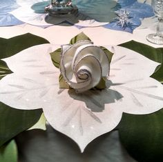 Inspired by Savannah: Carole Shiber Designs' Napkin Bouquets are the Sustainable Alternative for Fans of Flowers - They'll Last a Lifetime and Dress Up Your Table at the Holidays (Review) Holiday Gift Guide, Holiday Gifts, Holiday Decor, Napkin Rose, Silver Highlights, Single Rose, Winter Wonder, Floral Bouquets, Wow Products