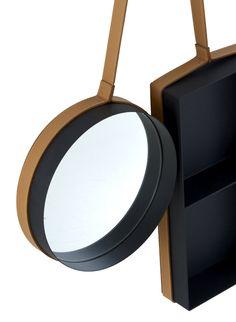 Storage box + mirror - Vanity Shelf by Outofstock for Ligne Roset Vanity Shelves, Mirror Vanity, Mirrors, Ligne Roset, Elle Decor, Jewelry Organization, Lighting Design, Accent Decor, Design Elements