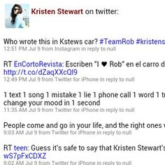 See everything about Kristen Stewart in just one place. This app includes YouTube Videos, Twitter, News, and Wikipedia.<p>This app is completely dynamic, so it displays the latest information every time you view it.<p>Why navigate to four different websites, when you can easily view everything you want to see in this one app.