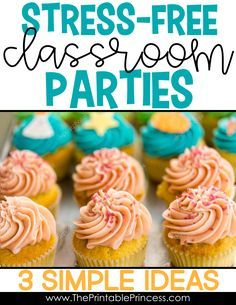 If you're a PreK, Kindergarten, or First Grade teacher you know that classroom parties are super fun but planning them can be a lot of work. Here's three practical and easy to implement ideas to get the most out of your parties with the least amount of st 2nd Grade Classroom, First Grade Teachers, Classroom Rules, Parents As Teachers, Classroom Organization, Classroom Management, Classroom Ideas, Classroom Board, First Grade Freebies