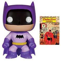 DC Comics: Pop! Vinyl Figure: Purple Rainbow Batman £10.99