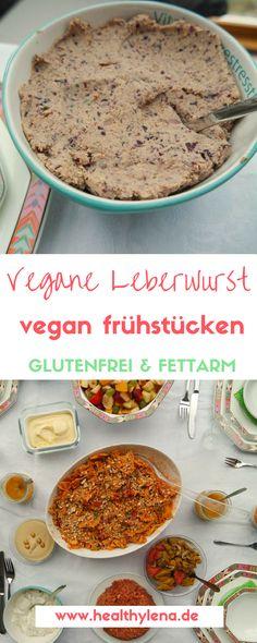 Vegane Leberwurst - der schnelle Brotaufstrich fürs Sonntagsfrühstück - glutenfrei & fettarm! #frühstück #vegan #katerfrühstück #frühstücken #lecker #einfach #schnell