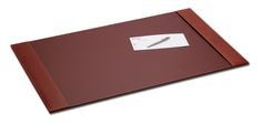 Rustic Brown Leather 34″ x 20″ Side-Rail Desk Pad, $167.00  http://www.dacasso.com/products/p3201-rustic-brown-leather-34-x-20-side-rail-desk-pad/