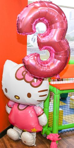 They also have this giant hello kitty balloon at my local party maker but its 21 bux!!! Its lilterally as tall or taller than lily