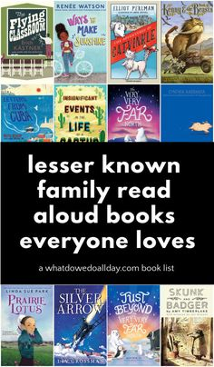 Tired of the same old read aloud recommendations? Try one of these off the beaten path books that the whole family will love! These are the best books for families with kids of all ages! Parenting Books, Parenting Humor, Parenting Advice, Read Aloud Books, Cool Mom Picks, Beginning Reading, Best Children Books, Chapter Books, Book Gifts