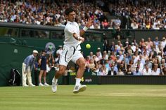 Djokovic wins his 7,000th point at Wimbledon en route to holding for 2-2. Bubbling nicely, this. Wimbledon 2015