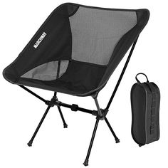 Ultralight Folding Camping Chair Beach Chairs Outdoor Furniture Backpack Stool Compact Lightweight Bag For Fishing Travel Hiking Beach
