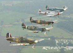 RAF Supermarine Spitfires