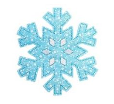 Free Embroidery Design: Snowflake - I Sew Free