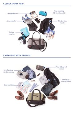 Check out how our Old Fashioned bag can help you travel for work or play!