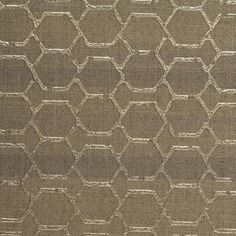 This detailed and decorated linen makes a striking statement about your space. Subtle horizontal stripes are overlaid with iridescent hexagonal links, making Buckley unique and multidimensional.